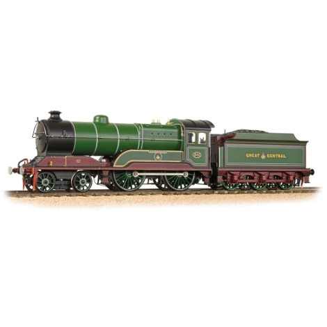 bachmann-31147ds-class-11f-502-zeebrugge-great-central-railway-lined-green-maroon-oo-gauge