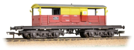 bachmann-33831-25-ton-queen-mary-brake-van-satlink-weathered-oo-gauge