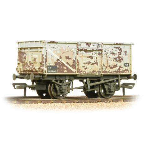 bachmann-37250j-br-16t-steel-mineral-wagon-pressed-end-door-br-grey-early-weathered-00-gauge