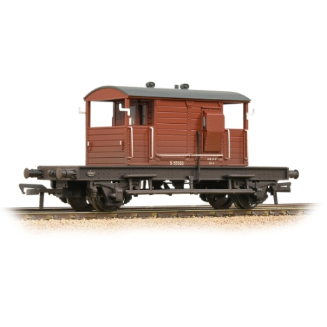 bachmann-38402b-sr-25t-pill-box-brake-van-righthand-duckets-br-bauxite-early-weathered-00-gauge