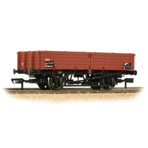 bachmann-38703-br-12t-pipe-wagon-br-bauxite-tops-00-gauge