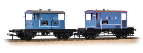 bachmann-38990-20-ton-brake-van-sr-pill-box-twin-pack-network-southeast-oo-gauge