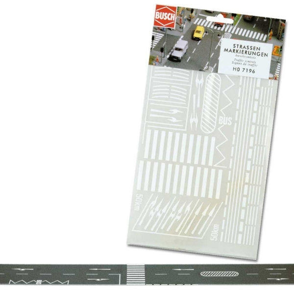 busch-7196-assorted-street-road-markings-oo-ho-gauge