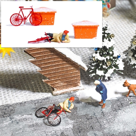 busch-7856-slipping-on-ice-scene-set-oo-ho-gauge