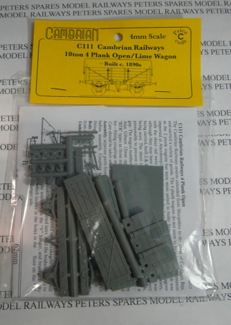 cambrian-c111-cambrian-railways-4-plank-open-wagon-plastic-kit-oo-gauge