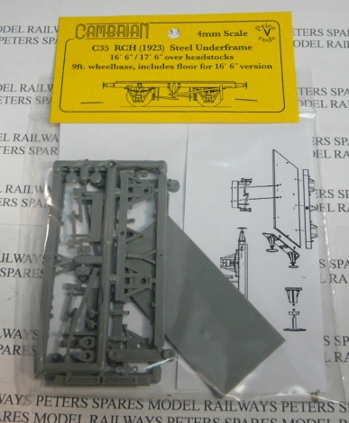 cambrian-c35-rch-steel-underframe-9ft-wb-plastic-kit-oo-gauge