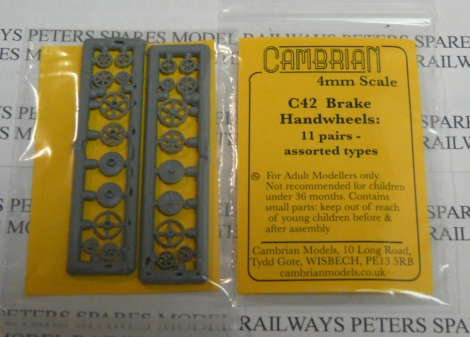 cambrian-c42-handwheels-11-pairs-assorted-plastic-oo-gauge