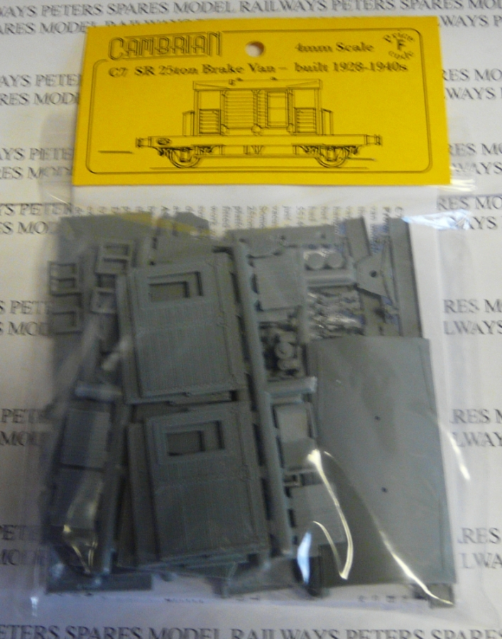cambrian-c7-sr-25ton-brake-van-plastic-kit-oo-gauge