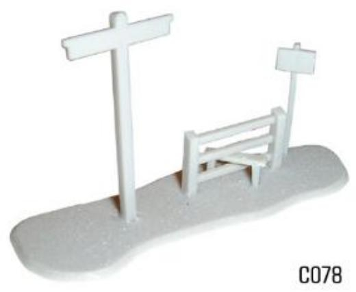 dapol-c078-signpost-and-stile-plastic-kit-oo-gauge