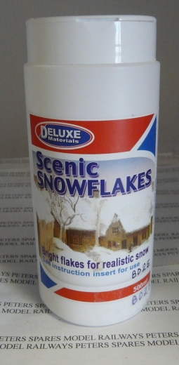 Deluxe Materials BD25 Scenic Snow Flakes