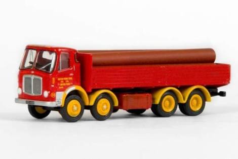 efe-37501-aec-mkv-4-axle-dropside-lorry-briton-ferry-steel-co-ltd-oo-gauge