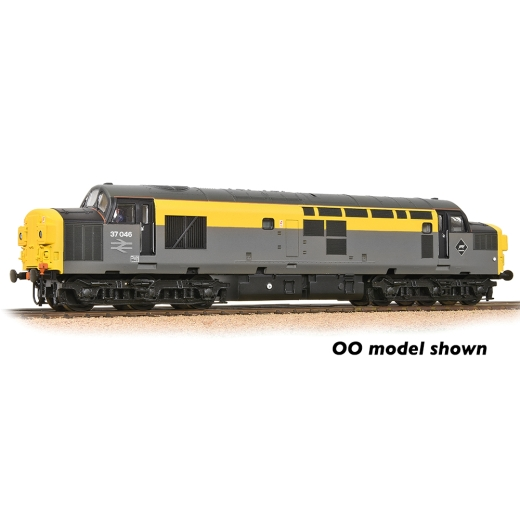 graham-farish-371466a-class-370-split-headcode-37046-br-engineers-grey-yellow-n-gauge
