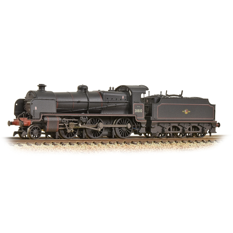 graham-farish-372935-n-class-260-no-31810-br-black-late-crest-weathered-n-gauge