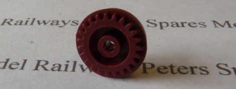 hornby-l51400rd-ringfield-geared-hub-large-disc-red-3-pole