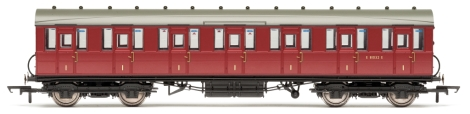 hornby-r4519b-br-51ft-gresley-nonvestibuled-suburban-first-coach-e81032e-oo-gauge
