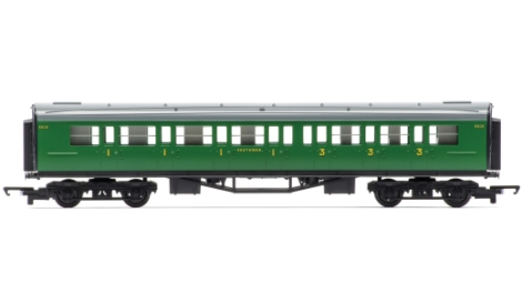 hornby-r4743-railroad-sr-maunsell-composite-coach-oo-gauge