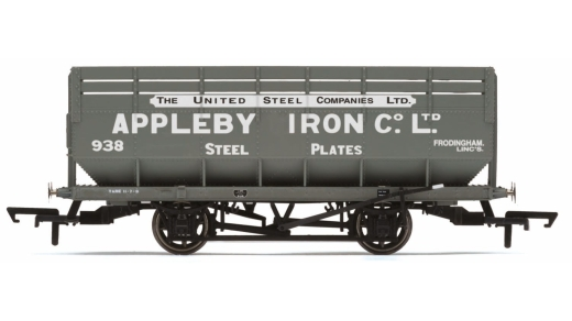 hornby-r6821-lms-20-ton-coke-wagon-dia-1729-appleby-iron-co-938-oo-gauge