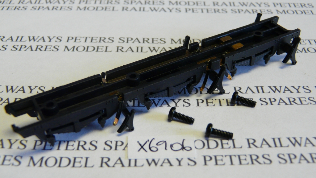 Hornby X6906 Star 4000 Class Chassis Bottom with Pickups