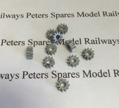 hornby-x8271-spur-gear-11t-for-3-pole-ringfield-motors-pk10