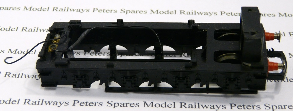 hornby x8415 used a1 a4 tender frame chassis tender