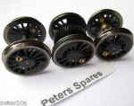 Large 0-6-0 // 2-6-4 Traction Tyres L6241 Hornby X8101 L5716 Pack of 10