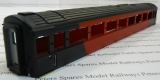 Hornby X3662 Mk3 Buffet Coach Body Virgin (Part Decorated / Short Version)