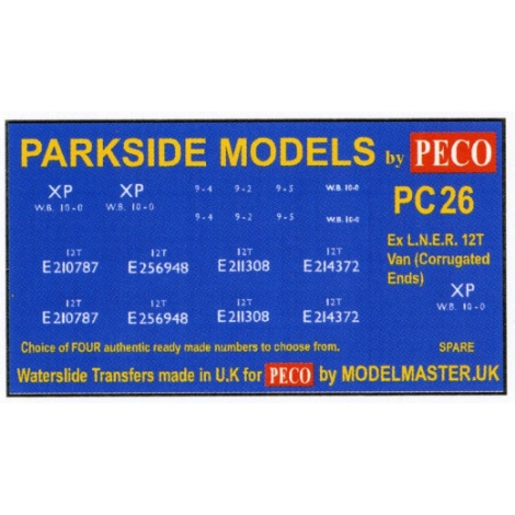 modelmaster-mmpc26-ex-lner-12t-corrugated-ends-transfers-parkside-pc26-oo-gauge