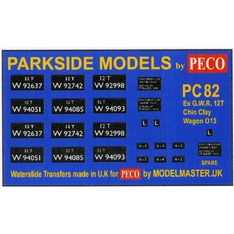 modelmaster-mmpc82-transfers-for-ex-gwr-china-clay-open-wagon