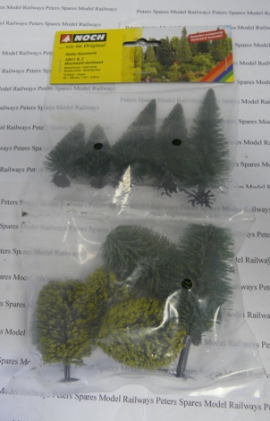 noch-32611-mixed-forest-trees-pack-of-10-n-gauge