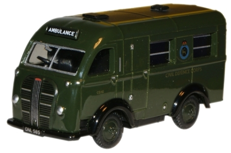 oxford-diecast-76ak014-austin-welfarer-k8-ambulance-civil-defence-corps-oo-gauge
