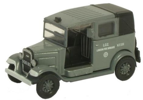 oxford-diecast-76at003-afs-london-fire-brigade-austin-taxi-oo-gauge