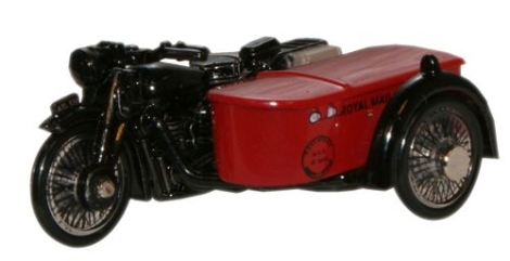 oxford-diecast-76bsa003-bsa-motorcycle-sidecar-royal-mail-oo-gauge