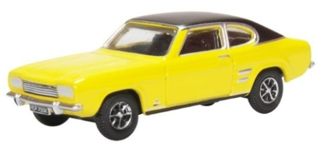 oxford-diecast-76cp001-ford-capri-mk1-maize-yellow-oo-gauge