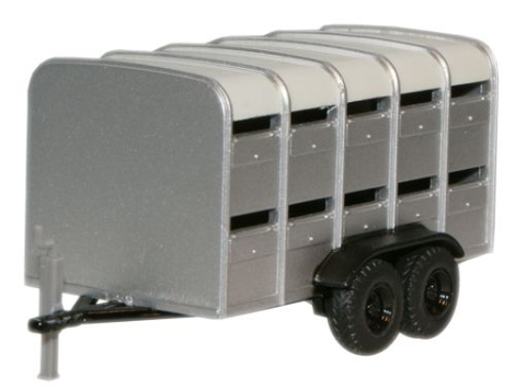 oxford-diecast-76farm001-livestock-trailer-silver-cream-roof-oo-gauge