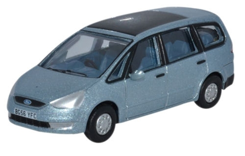 oxford-diecast-76fg001-ford-galaxy-ice-blue-oo-gauge