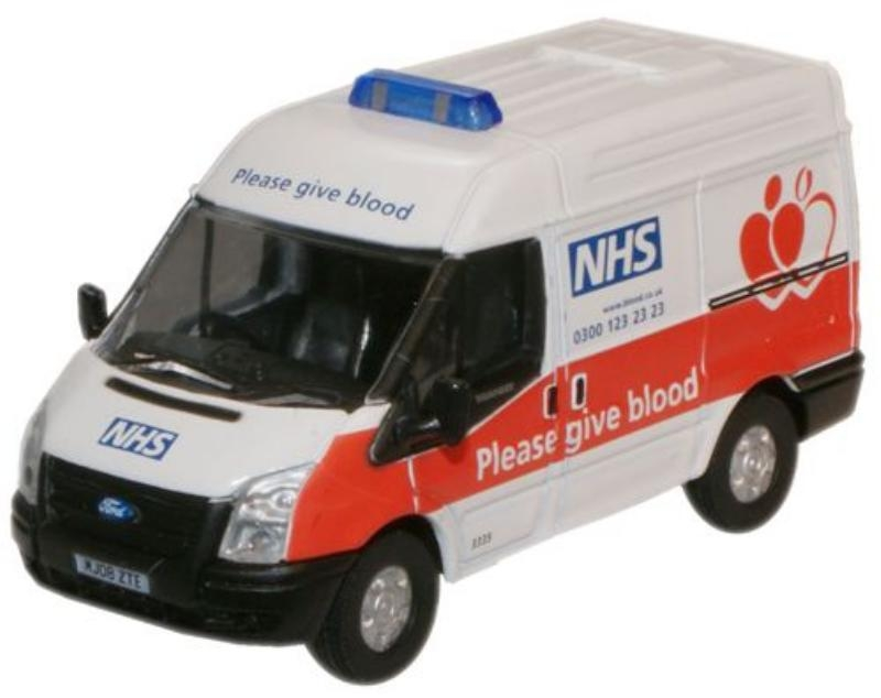 oxford-diecast-76ft008-ford-transit-swb-nhs-blood-donor-van-oo-gauge