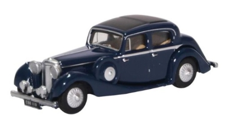 oxford-diecast-76jss006-jaguar-25-litre-dark-blue-oo-gauge