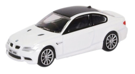oxford-diecast-76m3001-bmw-series-3-m3-coupe-e92-mineral-white-oo-gauge