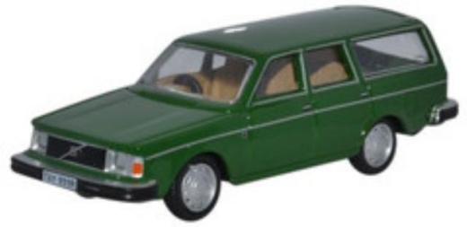 oxford-diecast-76ve001-volvo-245-estate-green-oo-gauge