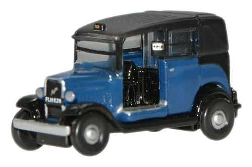 oxford-diecast-nat002-austin-low-loader-taxi-oxford-blue-n-gauge