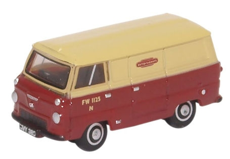 oxford-diecast-nfde001-ford-400e-van-british-rail-n-gauge