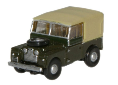 oxford-diecast-nlan188009-land-rover-series-1-88-canvas-bronze-green-n-gauge
