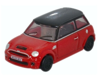 oxford-diecast-nnmn001-new-mini-cooper-s-chili-red-n-gauge
