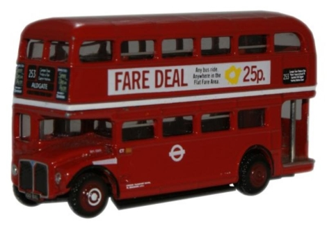 oxford-diecast-nrm011-london-transport-rm1000-roundel-routemaster-n-gauge