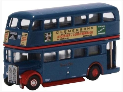 oxford-diecast-nrt007-regent-rt-bus-browns-blue-n-gauge