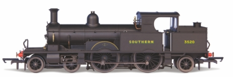 oxford-rail-or76ar007-adams-radial-442t-class-415-southern-railway-black-with-sunshine-lettering-3520-oo-gauge