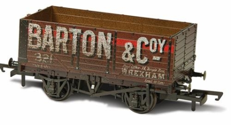 oxford-rail-or76mw7020w-7-plank-mineral-wagon-barton-and-co-no321-weathered-oo-gauge