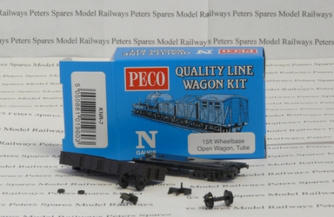peco-quality-line-wagon-knr7-15ft-wheelbase-open-wagon-wagon-kit