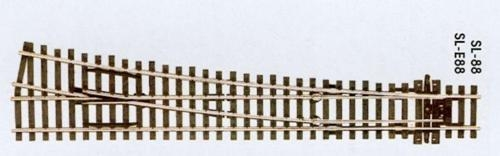 peco-sl88-large-radius-right-hand-point-insulfrog-code-100-rail-oo-gauge