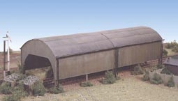 ratio-231-carriage-shed-plastic-kit-n-gauge